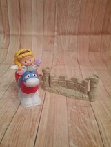 Fisher Price Little People. Castle set, Princes... - $7.91