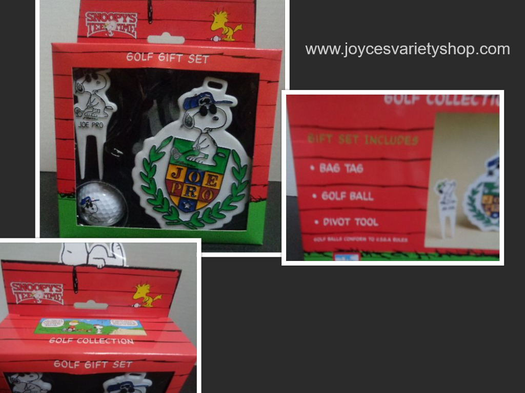 Joe pro golf gift set collage