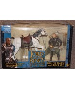 2003 Lord Of The Rings Legolas & Horse Deluxe R... - $44.99