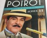 Poirot Series 11, 4 Mysteries on 2 Discs, DVD Widescreen. Agatha Christie.
