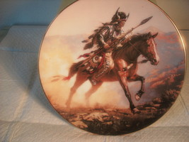 HAMILTON COLLECTION==SPIRIT OF THE PLAINS==COLLECTOR PLATE - $5.50