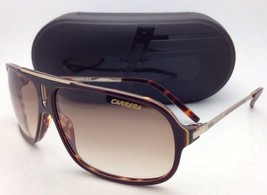 New Sunglasses CARRERA COOL/S CSV ID 65-12 Brown Havana & Gold w/ Brown Lenses