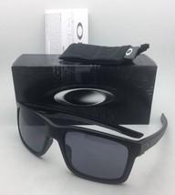 New OAKLEY Sunglasses MAINLINK OO9264-01 Matte Black & Grey Frame w/ Grey Lenses