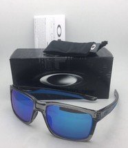 New OAKLEY Sunglasses MAINLINK OO9264-03 Grey Ink-Blue Frame w/ Sapphire Iridium