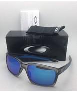 New OAKLEY Sunglasses MAINLINK OO9264-03 Grey Ink-Blue Frame w/ Sapphire... - $159.95