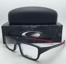 New OAKLEY Eyeglasses CHAMFER OX 8039-0351 Pavement - Grey - Burgundy Frame