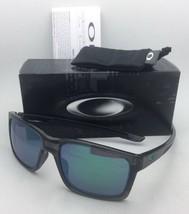 New OAKLEY Sunglasses MAINLINK OO9264-04 Grey Smoke Frames w/Jade Iridium Lenses
