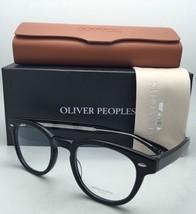 New Oliver Peoples Eyeglasses Sheldrake Ov 5036 4270 47-22 Black Frame w/ Clear - $339.95