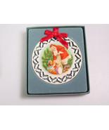 LENOX Christmas Ornament decoration Santas Visit Portrait Series  - $23.99