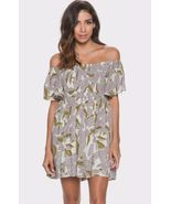Free People Louise Off-Shoulder Smocked Dress: ... - $44.95