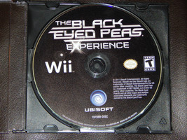 The Black Eyed Peas Experience Nintendo Wii Game Only Free Shipping Musi... - $4.99