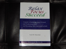Relax Focus Succeed Paul Palachuk Free Shipping Self Help Book Kids Chil... - $6.99