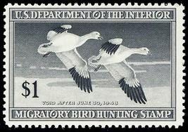 RW14, Mint VF NH DUCK Stamp Cat $55.00 - Stuart Katz - $30.00