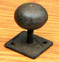 Cast Iron Antique Drawer Knob Set of 6 - $24.74