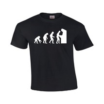 Evolution of Man Computer T-shirt Funny Geek PC Gamer Men's Gildan Tee - $12.74 - $15.29