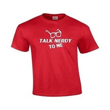 Talk Nerdy To Me Funny Cute Holiday Gift Geek N... - £7.54 GBP - £11.76 GBP