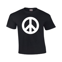 T-Shirt for Men Peace Sign Design Gildan T-Shirt - $12.74 - $15.29