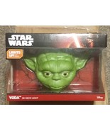 Disney Star Wars Yoda 3D Deco Light with Sticker For wall mount - $44.00