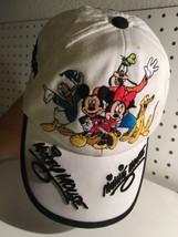 Disneyland Resort Toddler Hat Cap Adjustable Mickey Minnie Goofy Donald White - $17.05