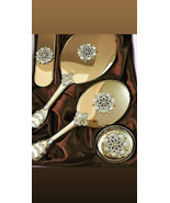 Brush and Mirror Set, Mirror and Comb Set, Christmas Gifts For Her, Wooden Birth - $78.00