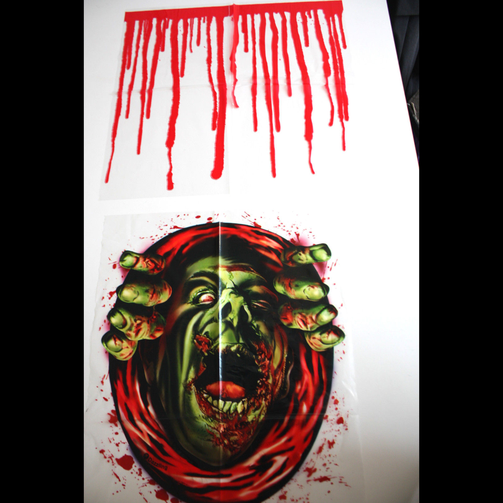 Haunted House Blood Monster-ZOMBIE GHOUL TOILET COVER
