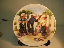 A Coat of Paint Jeanne Down collectible plate Knowles 1985 3rd plate in ... - $14.70