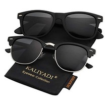 Polarized Sunglasses for Men and Women Semi-Rimless Frame Driving Sun glasses 10