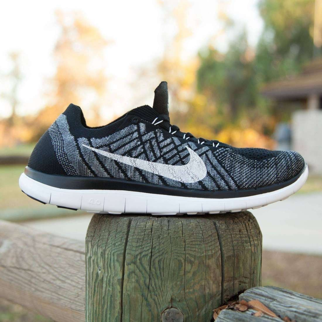 "Nike FREE FLYKNIT 4.0 MENs USszs:7; 8; 11; 11.5 ""GRIFON"" running shoe 717075-001, used for sale  USA"