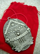 Disney Vacation Club Christmas Ornament - 2012 Members Only Pewter Ornam... - $34.99