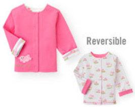 Pig Playtime Gymboree NWT Pink Pig Reversible Jacket  0- 3  mos. - $9.99