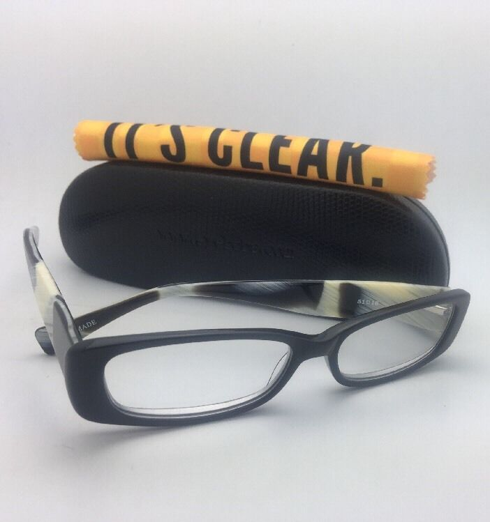 Readers EYE•BOBS Eyeglasses CO-CONSPIRATOR 2136 18 +2.00 Black w/ Horn Temples