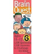 Brain Quest Grade 6, revised 3rd Edition : 1500 Q & A to Challenge the Mind - $14.95