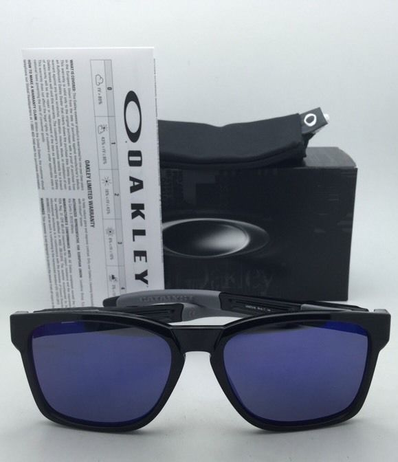 OAKLEY CATALYST Sunglasses OO9272-06 Black Ink Frames with +Red Iridium Lenses