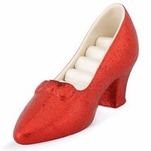 Lenox Dorothy's Ruby Slipper Ring Holder Wizard Of Oz Red Shoe Gift NEW - $37.39