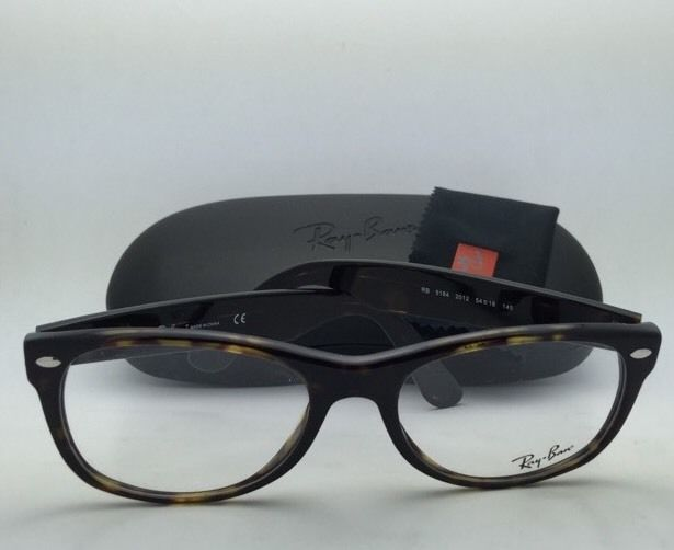 New RAY-BAN Eyeglasses RB 5184 2012 54-18 Tortoise Brown Frames with Demo Lenses