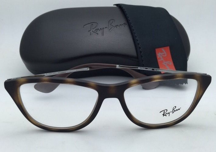 4bb768f184 New RAY-BAN Eyeglasses RB 7042 5365 52-14 140 Havana Tortoise ...