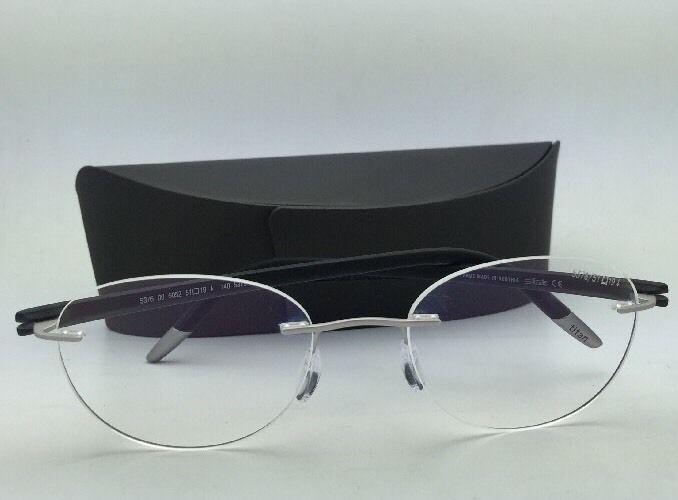 SILHOUETTE Eyeglasses SPX SIGNIA 5376 00 6052 5379 Grey Steel w/ Clear lenses