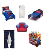 Toddler Complete Bedding Bedroom Collection Set,Spiderman Room in Box - $429.00