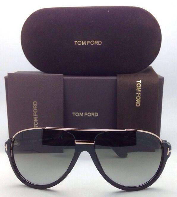 1d7c6c998a4d New TOM FORD Sunglasses DIMITRY TF 334 01P 59-14 Black ...