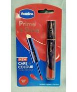 Vaseline Prime & Shine 2-in-1 Lip Balm Primer & Colored Gloss Duo PLUM R... - $9.89