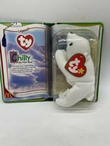 NEW McDonalds Legends Chilly the Polar Bear TY Beanie Baby 1994 Retired - $9.41