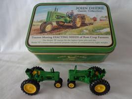 Model B & Model G John Deere Tin Box Ertl 1/64th Diecast set boys/girls ... - $39.60