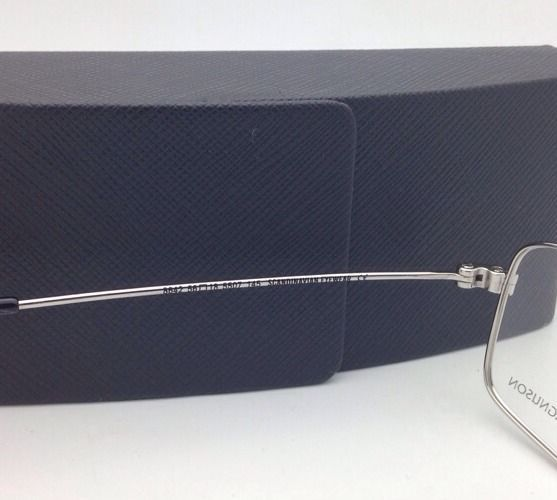 9aeee51411 New OSCAR MAGNUSON Eyeglasses 8642 5507 56-18 145 Silver Frame with Clear  Lenses