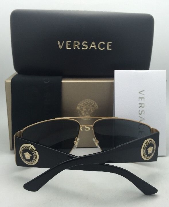 df18452b11a New VERSACE Sunglasses VE 2163 1002 87 63-15 and 50 similar items