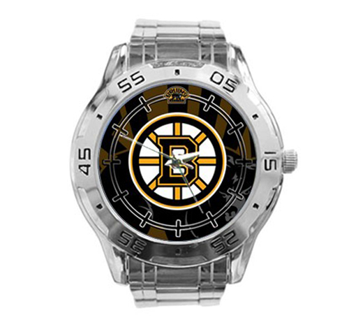 Boston Bruins NHL Stainless Steel Analogue Men's Watch