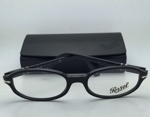 69c4d494c7f New PERSOL Rx-able Eyeglasses 2980-V 95 53-18 145 Black Frame
