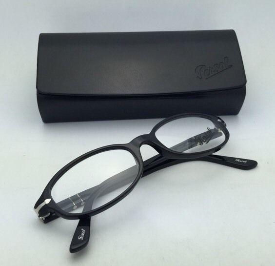 01b6e4f5f04 New PERSOL Rx-able Eyeglasses 2980-V 95 53-18 145 Black Frame