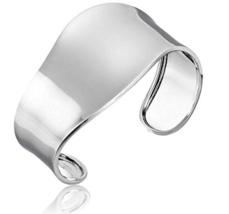 Sterling Silver Wave Cuff Bracelet - $83.44