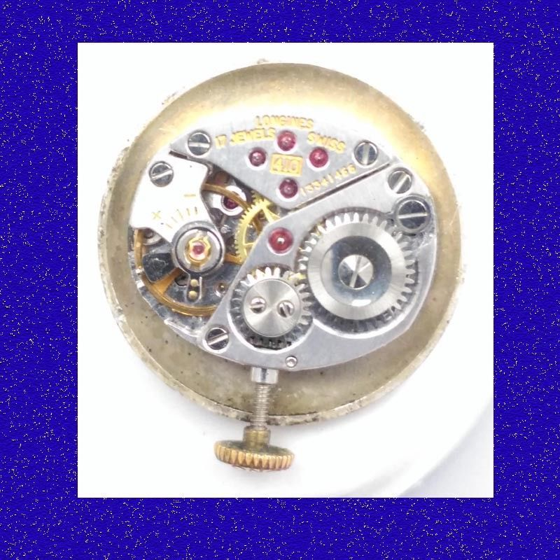 Primary image for Vintage Longines  17 Jewel Calibre 410 Wrist Watch Movement, 1965