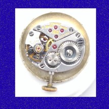Vintage Longines  17 Jewel Calibre 410 Wrist Watch Movement, 1965 - $31.72